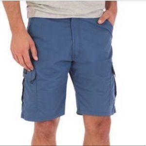 Men's Wrangler Performance Cargo Shorts Size 36